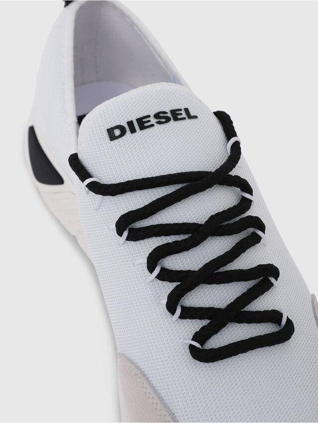 Diesel - S-KBY, Bianco - Sneakers - Image 5