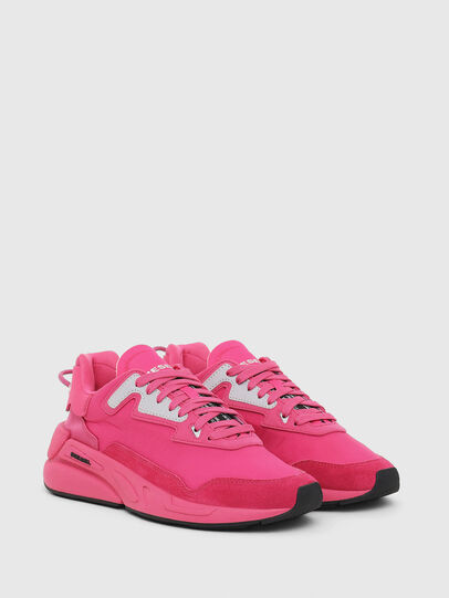 Diesel - S-SERENDIPITY LC W, Rosa Fluo - Sneakers - Image 2