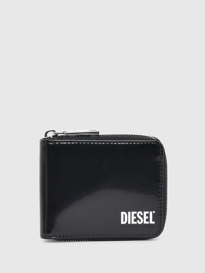 Diesel - HIRESH XS ZIPPI, Nero - Portafogli Con Zip - Image 1