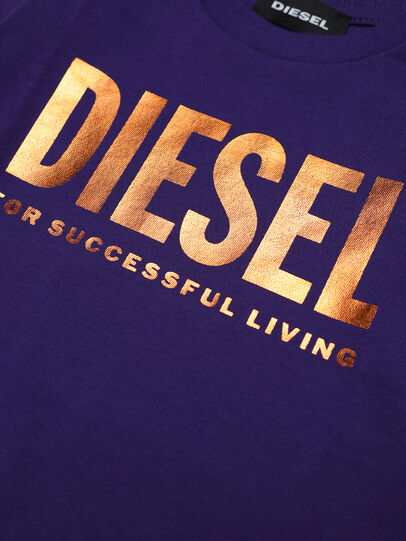Diesel - TJUSTLOGOB-FL ML, Viola - T-shirts e Tops - Image 3