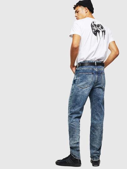 Diesel - D-Macs 0097G, Blu medio - Jeans - Image 7