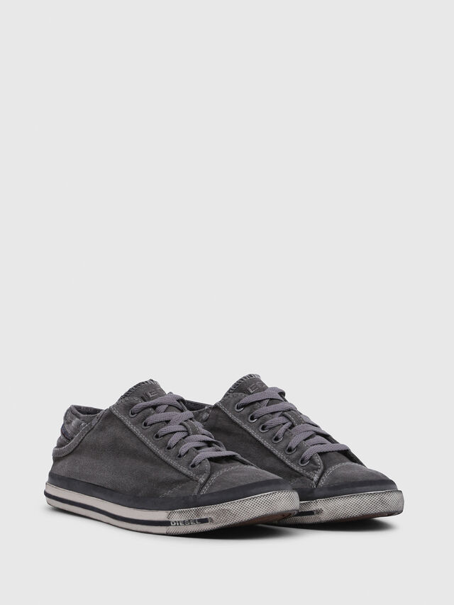 Diesel - EXPOSURE IV LOW  W, Grigio Metallizzato - Sneakers - Image 2