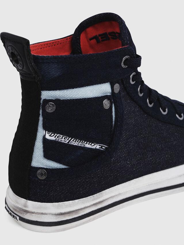Diesel - EXPOSURE IV W, Blu Scuro - Sneakers - Image 5