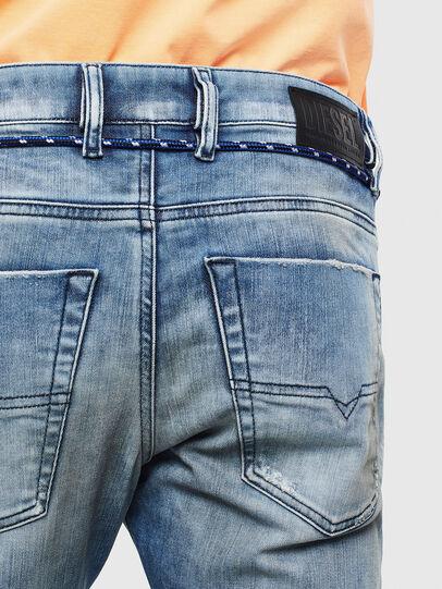 Diesel - Krooley JoggJeans 0099Q, Blu medio - Jeans - Image 4