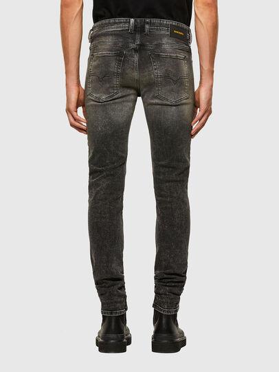 Diesel - Sleenker 009IS, Nero/Grigio scuro - Jeans - Image 2