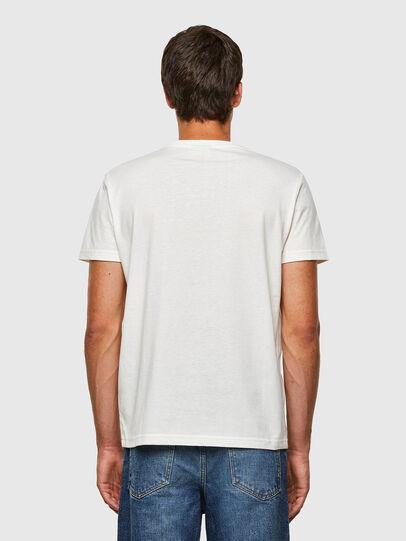 Diesel - T-DIEGOS-N23, Bianco - T-Shirts - Image 2