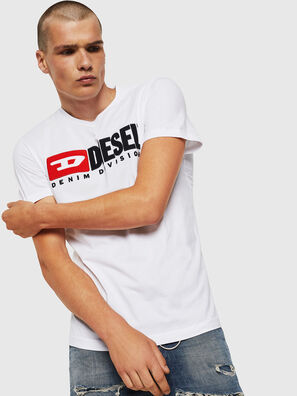 T-DIEGO-DIVISION, Bianco - T-Shirts