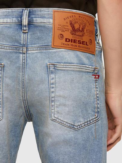 Diesel - D-Strukt JoggJeans® 069UU, Blu Chiaro - Jeans - Image 4
