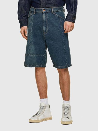 Diesel - D-FRANS-SP, Blu medio - Shorts - Image 1