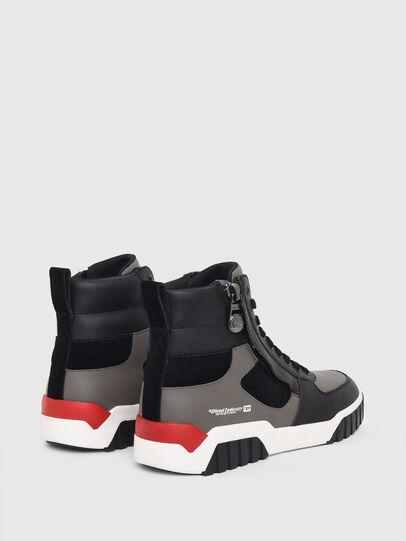 Diesel - S-RUA MID SK, Grigio - Sneakers - Image 3