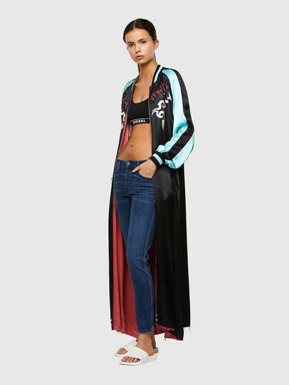 Diesel - Babhila 009QI, Blu Scuro - Jeans - Image 5