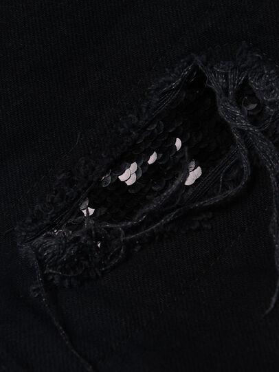 Diesel - WIDEE-J-SP, Nero - Jeans - Image 3