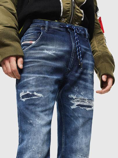 Diesel - Krooley JoggJeans 0097N, Blu Scuro - Jeans - Image 3