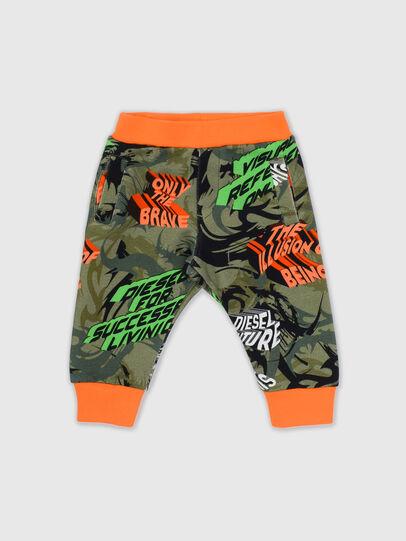 Diesel - PFREDB, Verde Militare - Pantaloni - Image 1