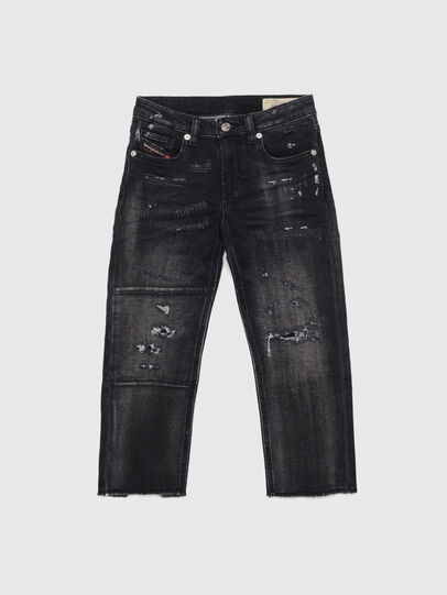 Diesel - ARYEL-J JOGGJEANS, Nero/Grigio scuro - Jeans - Image 1