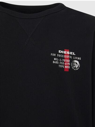 Diesel - UMLT-WILLY, Nero - Felpe - Image 3
