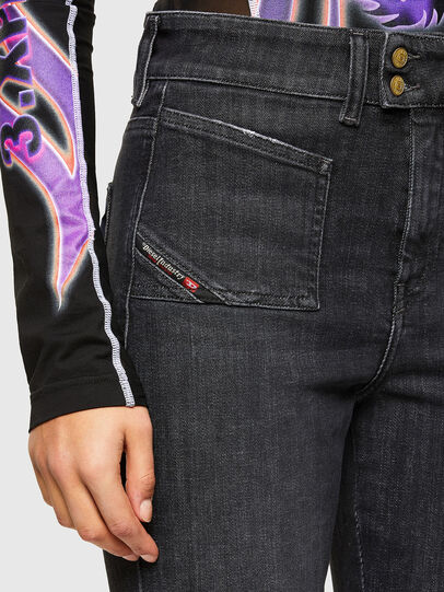 Diesel - D-Earlie 009JZ, Nero/Grigio scuro - Jeans - Image 3