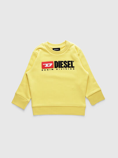 Diesel - SCREWDIVISIONB-R, Giallo - Felpe - Image 1