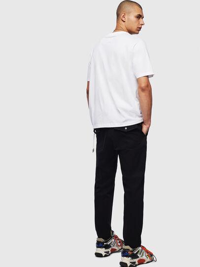 Diesel - T-HUSTY, Bianco - T-Shirts - Image 8