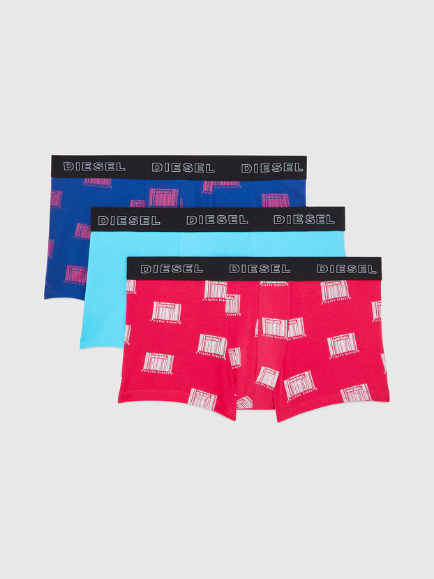 UMBX-DAMIENTHREEPACK, Fucsia - Boxer stretch