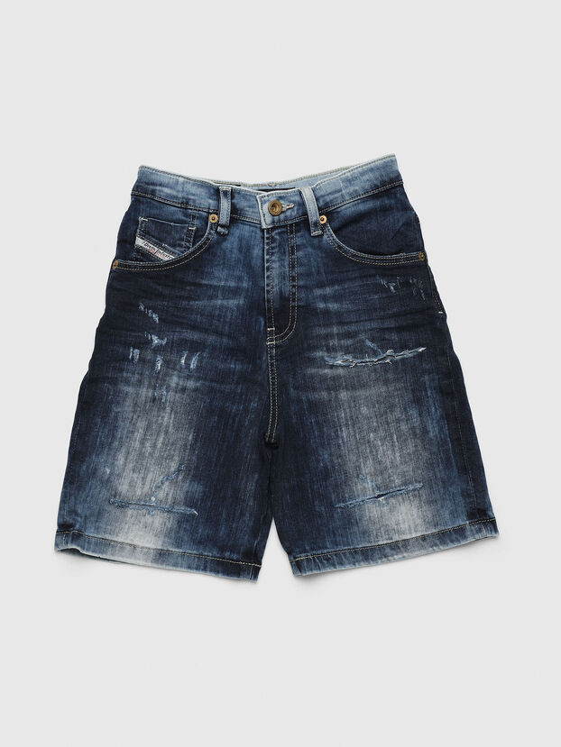 PBRON, Blu medio - Shorts