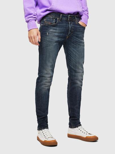 Diesel - Sleenker 069GC, Blu Scuro - Jeans - Image 1