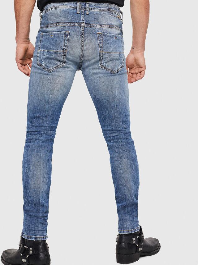 Diesel - Thommer 0090M, Blu Chiaro - Jeans - Image 2