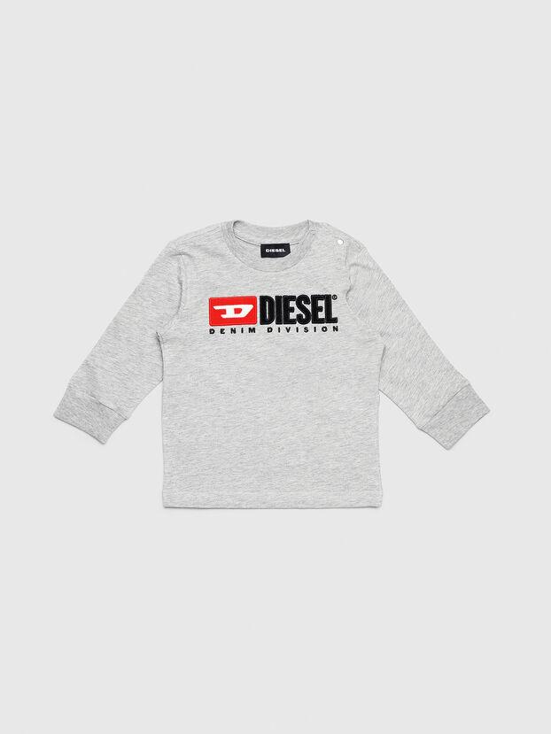 TJUSTDIVISIONB ML, Grigio - T-shirts e Tops