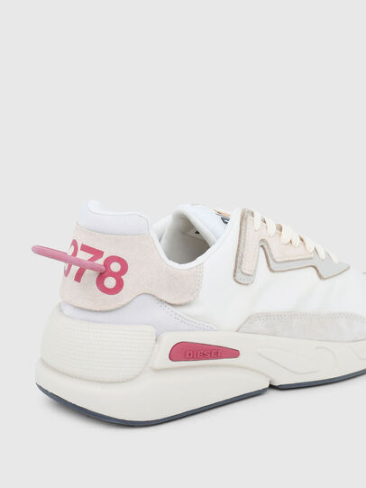 Diesel - S-SERENDIPITY LC W, Bianco/Rosa - Sneakers - Image 5