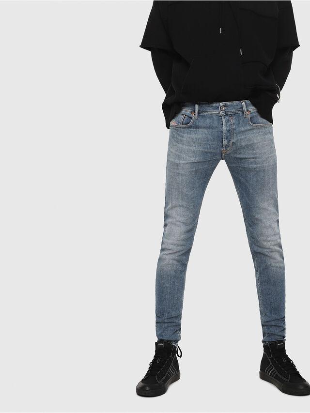 Diesel - Sleenker 086AP, Blu medio - Jeans - Image 1