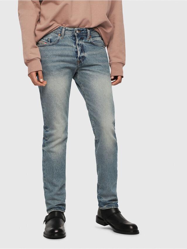 Diesel - Buster 0076I, Blu Chiaro - Jeans - Image 1