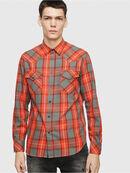 S-EAST-LONG-E, Rosso - Camicie