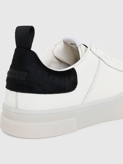 Diesel - S-CLEVER LOW LACE, Bianco/Nero - Sneakers - Image 4