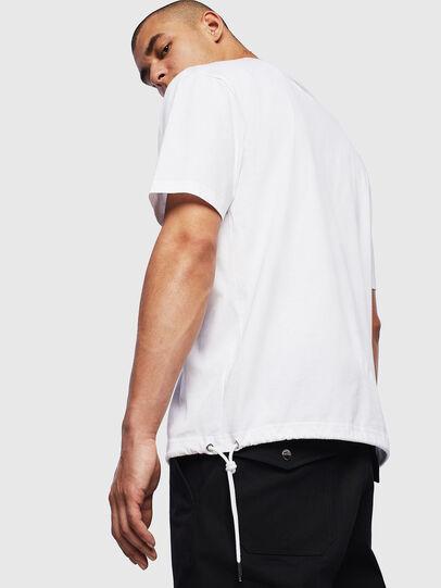 Diesel - T-HUSTY, Bianco - T-Shirts - Image 4