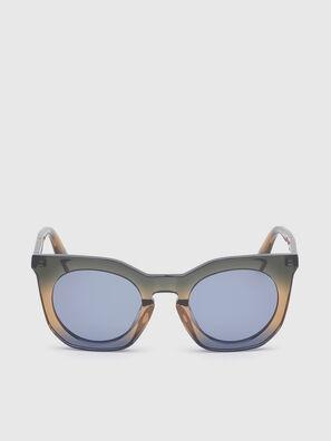 DL0283, Blu/Giallo - Occhiali da sole