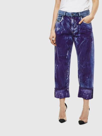 Diesel - D-Reggy 069NW, Blu medio - Jeans - Image 1