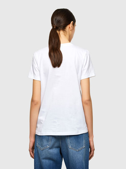 Diesel - T-SILY-K10, Bianco - T-Shirts - Image 2