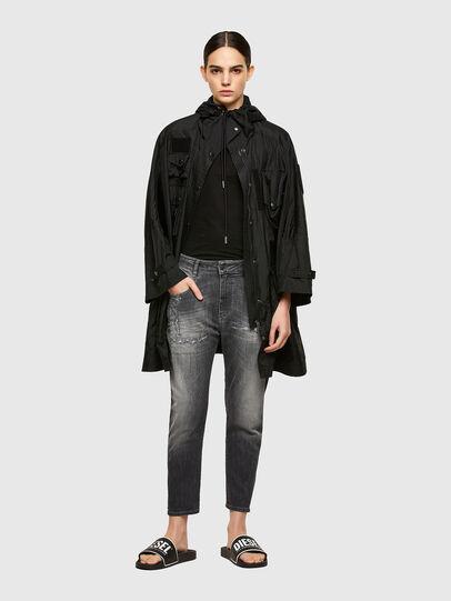 Diesel - Fayza JoggJeans® 009QT, Nero/Grigio scuro - Jeans - Image 5