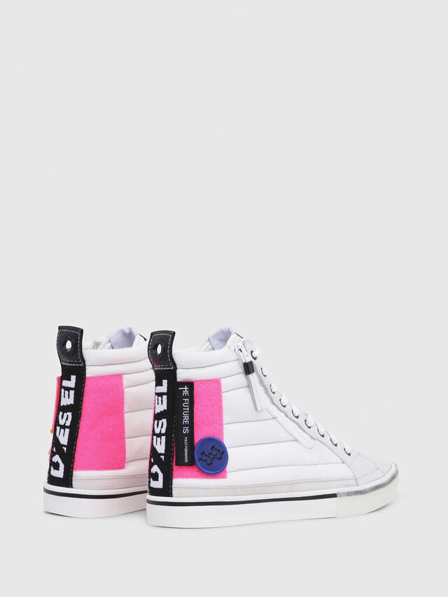 Diesel - D-VELOWS MID PATCH W, Bianco - Sneakers - Image 3