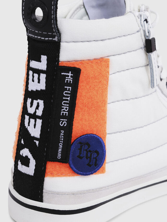 Diesel - D-VELOWS MID PATCH, Multicolor/Bianco - Sneakers - Image 5