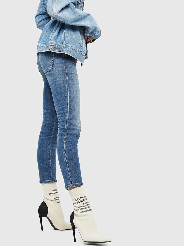 Diesel - Babhila 086AP, Blu Chiaro - Jeans - Image 4