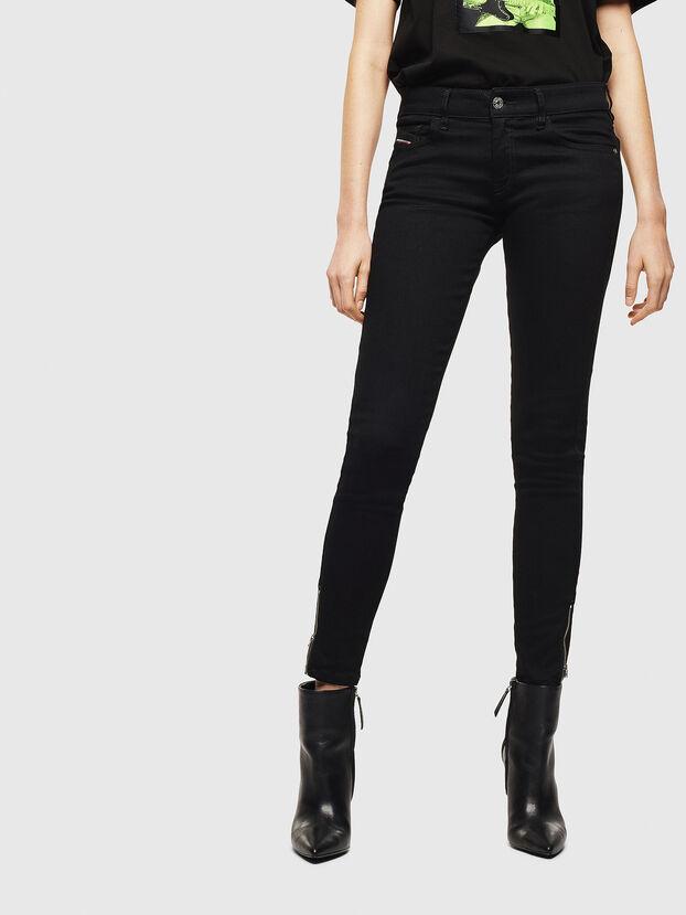 Slandy Low 069EF, Nero/Grigio scuro - Jeans