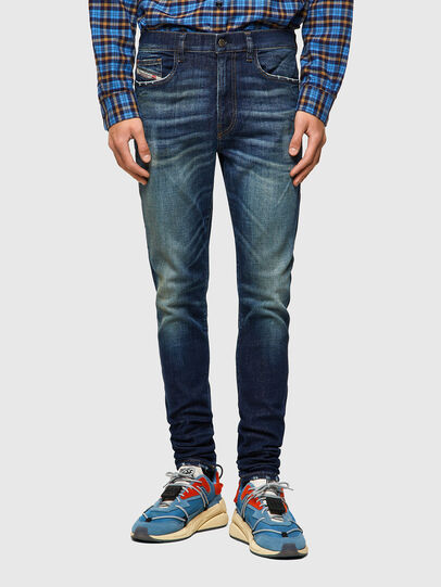 Diesel - D-Amny 09A27, Blu Scuro - Jeans - Image 1