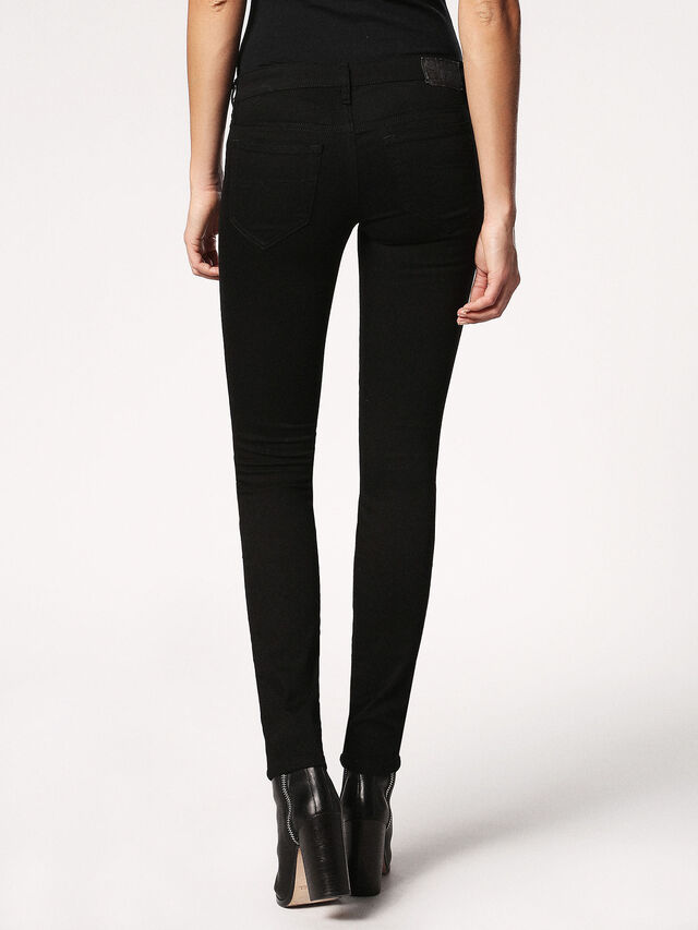 SKINZEE-LOW 0813E, Nero Jeans