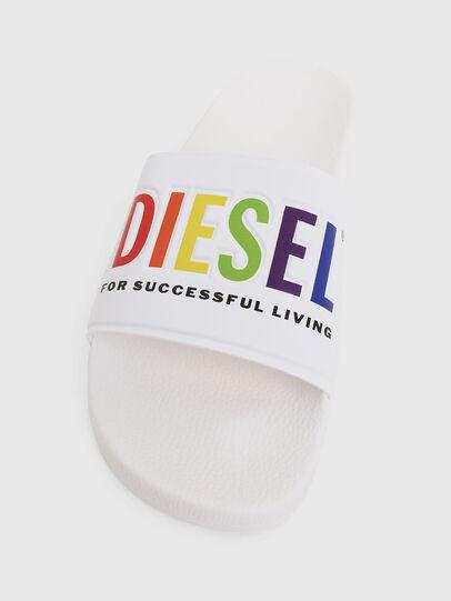 Diesel - SA-VALLA, Bianco - Ciabatte - Image 5