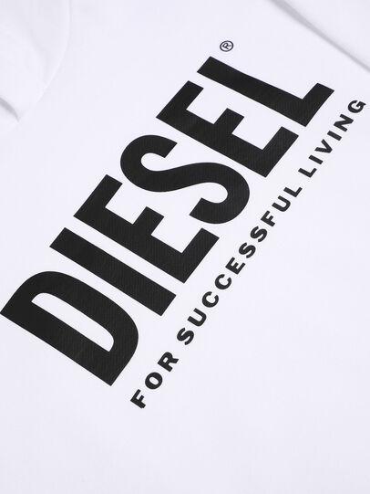 Diesel - SDIVISION-LOGO OVER, Bianco - Felpe - Image 3