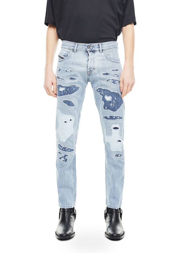 Diesel - TYPE-2813, Blu Chiaro - Jeans - Image 1