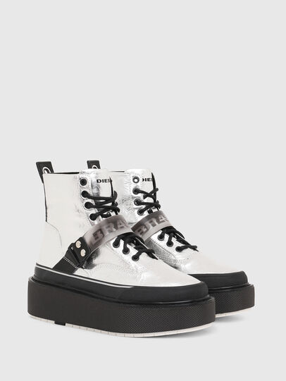 Diesel - H-SCIROCCO STRAP, Argento - Sneakers - Image 2