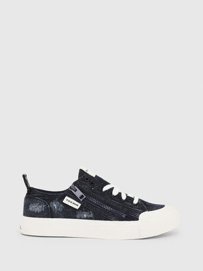 S-ASTICO LOW ZIP W, Blu Jeans - Sneakers