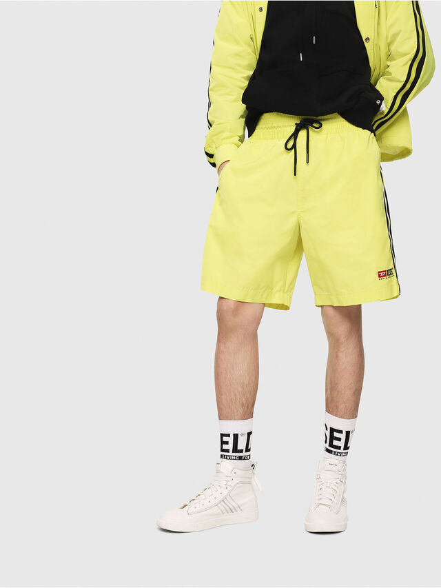 Diesel - P-BOXIE, Giallo Fluo - Shorts - Image 1